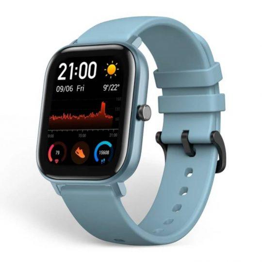 שעון AMAZFIT GTS כחול